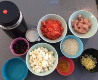 Termokande Curry Ingredienser