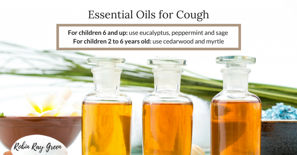 Essential Oils to Stop a child's cough