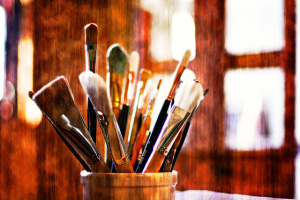 Paint Brushes by Sean Foreman
