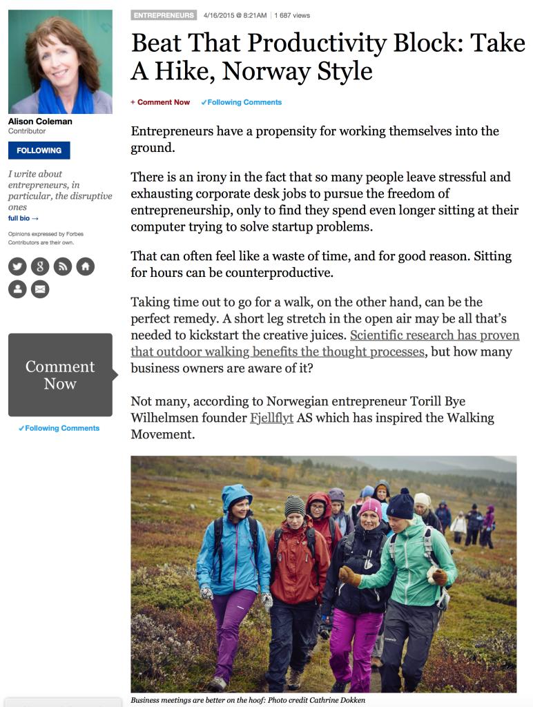 Norsk gründer i Forbes