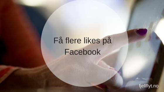 Få flere Facebook-likes