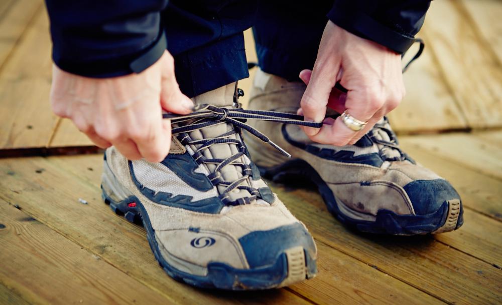 Snør skoa og gjennomfør forretningsideer