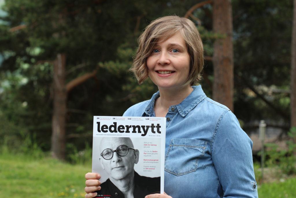 Torill Bye Wilhelmsen i Fjellflyt om delingskultur i ledernytt