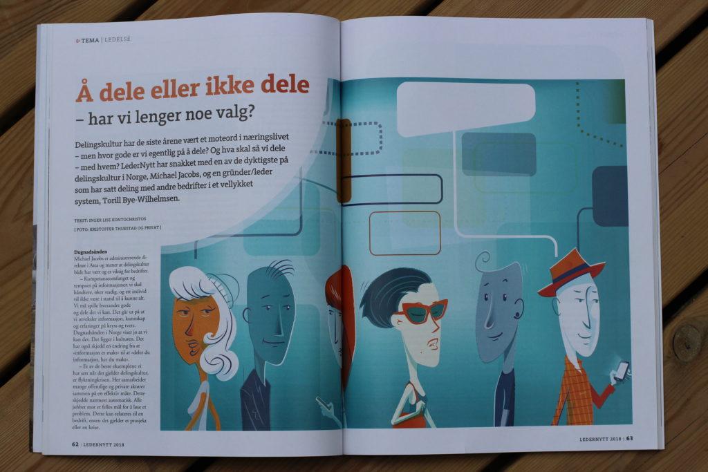 Torill Bye Wilhelmsen om delingskultur i coworking space ledernytt
