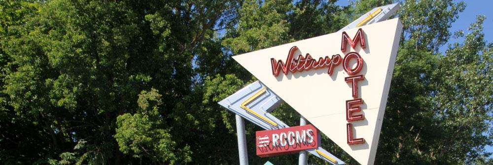 Wittrup Motel kunne i princippet sagtens have ligget i fx Alabama, men det ligger i Albertslund mellem Roskilde og København
