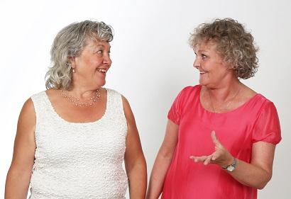 Ingeborg Hjortsballe og Rikke Mors