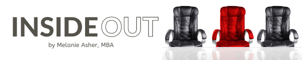 Banner Image for Melanie Asher's INSIDE OUT project about corporate board diversity.