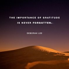 importance-of-gratitude