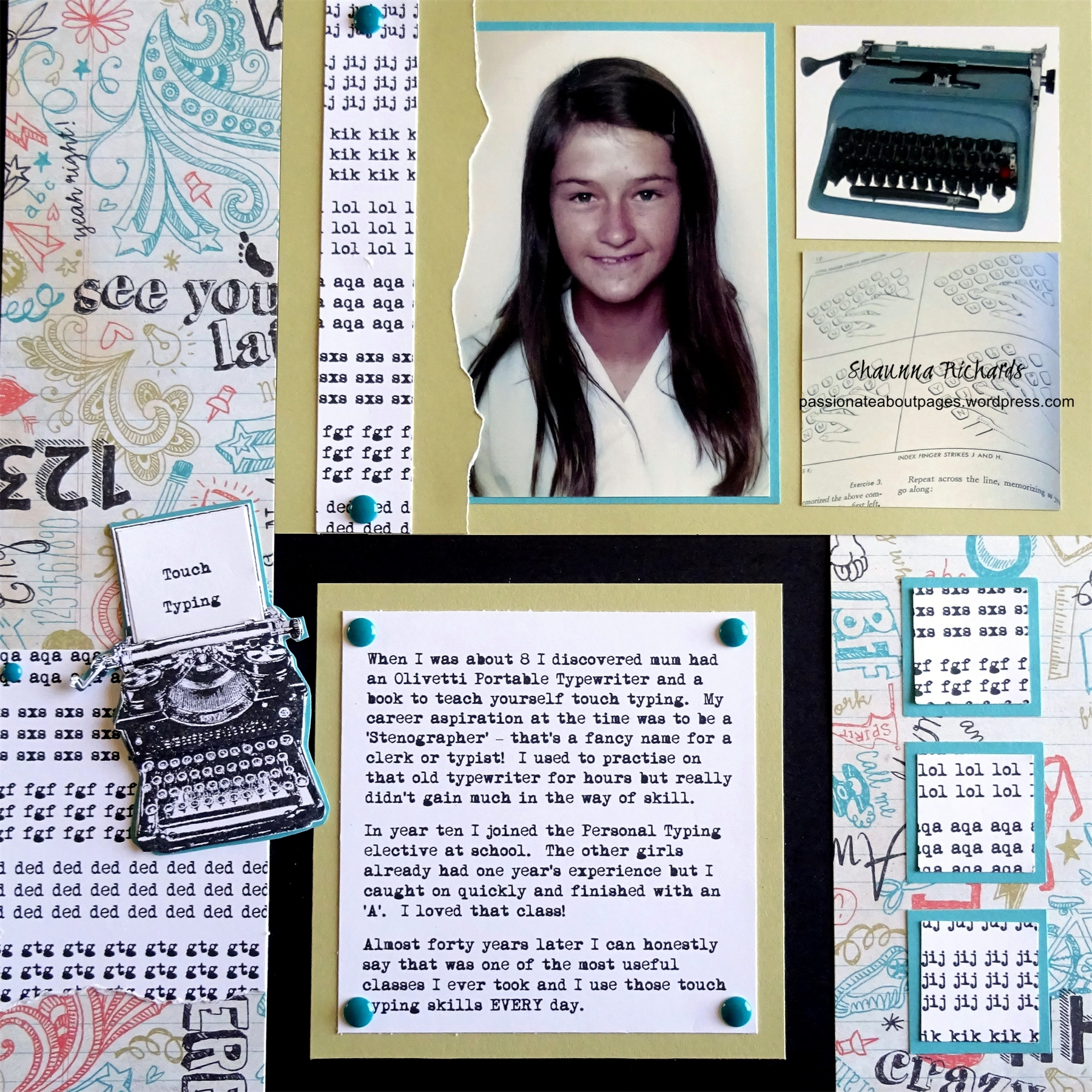 This Layout is inspired by page 16 of CTMH's 'Cherish' How To Book  (9038)