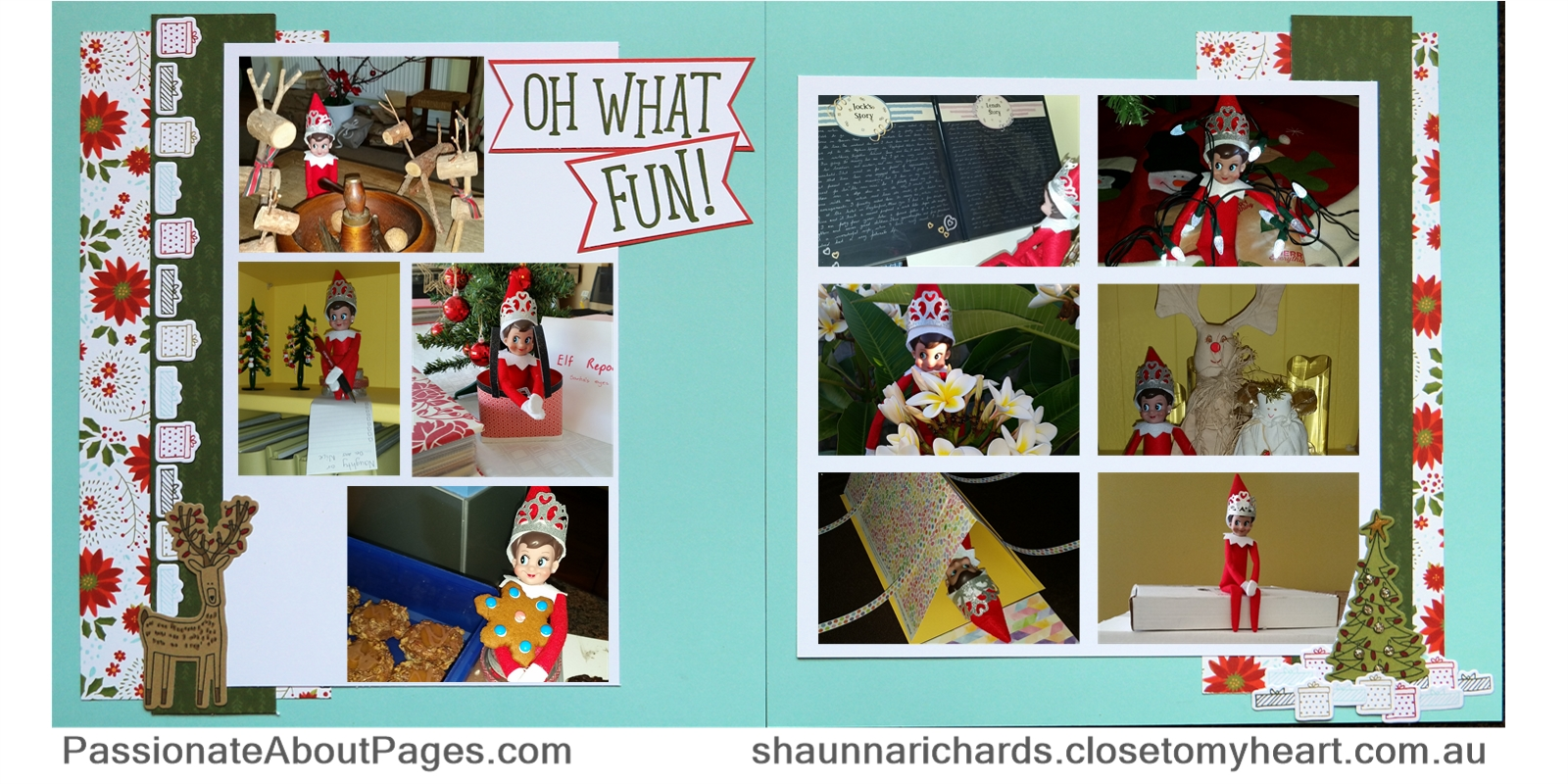 Having some Beary Christmas fun with Close To My Heart papers, stamps and dies. Order yours at www.shaunnarichards.ctmh.com.au before Dec 31, 2017