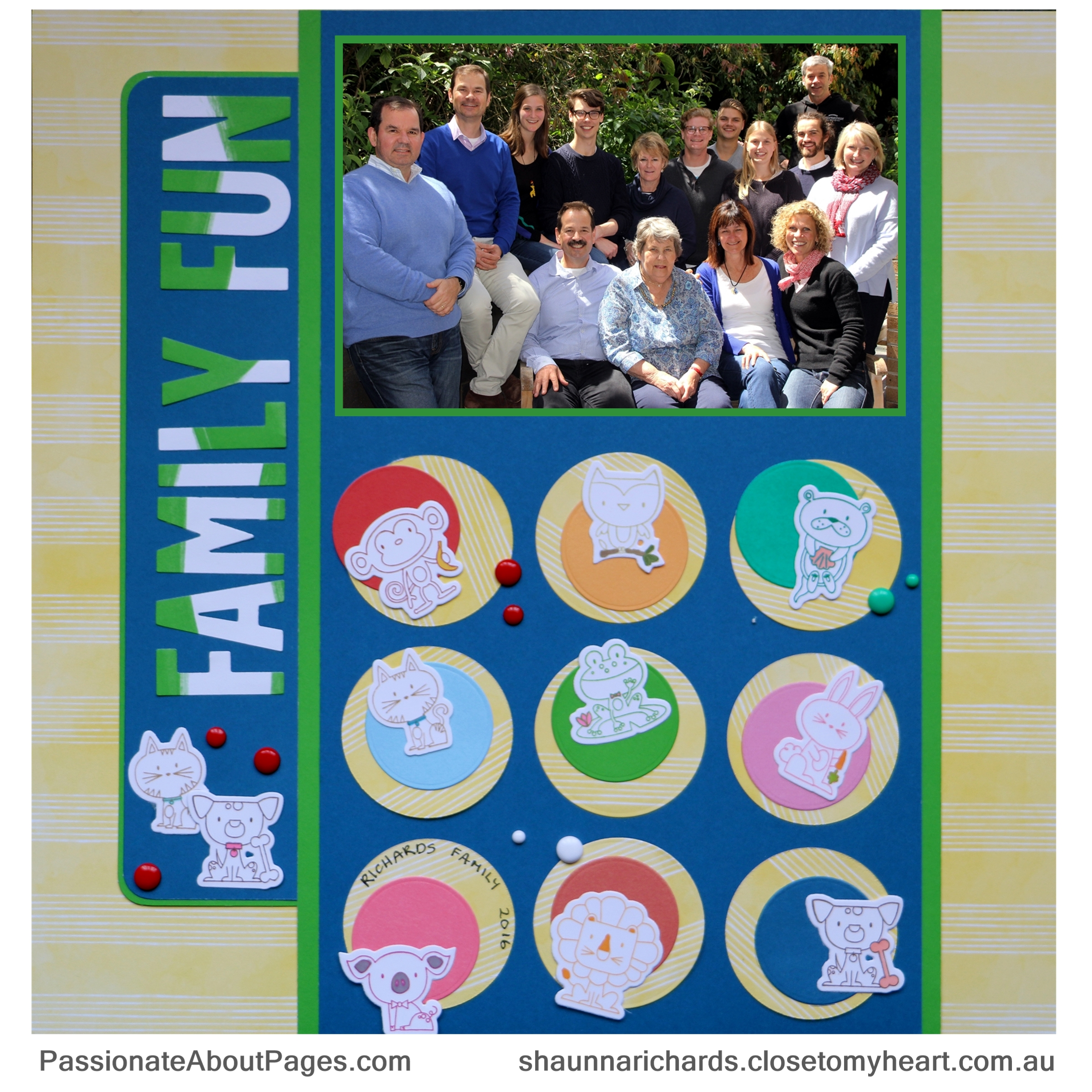 CTMH PUnny Pals Stamps help raise funds for Operation Smile while bringing joy to the crafters who use them. Order yours at www.shaunnarichards.ctmh.com.au