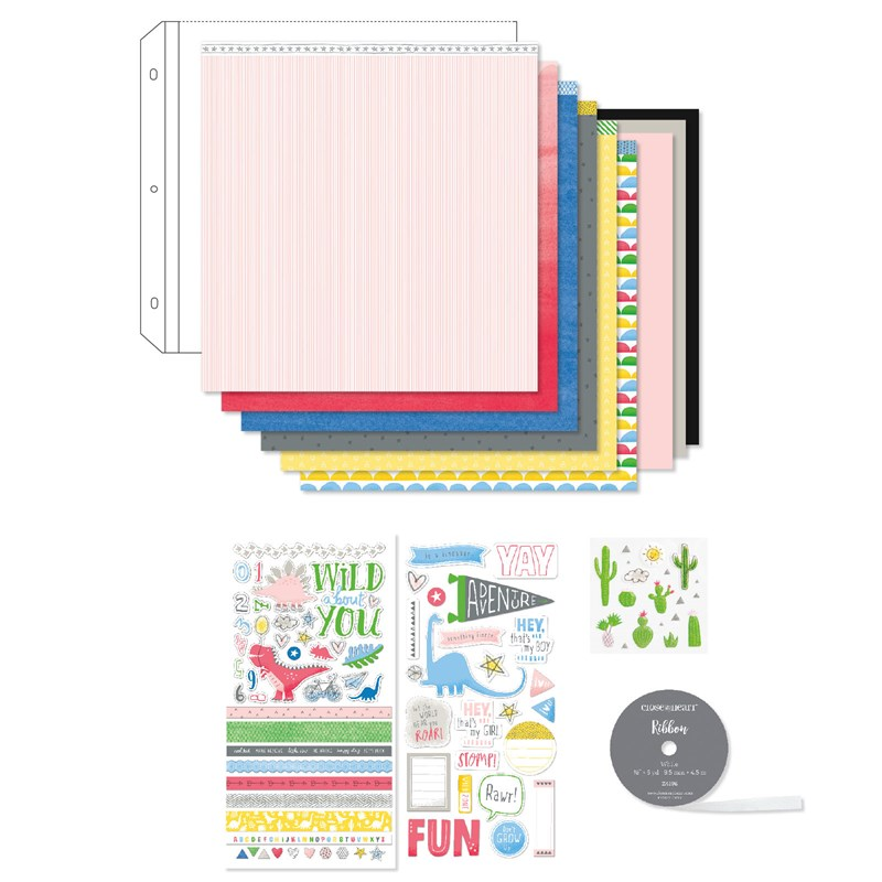 Create bright, fun pages and cards with Something Fierce. Order your collection at www.shaunnarichards.closetomyheart.com.au before the end of April 2019