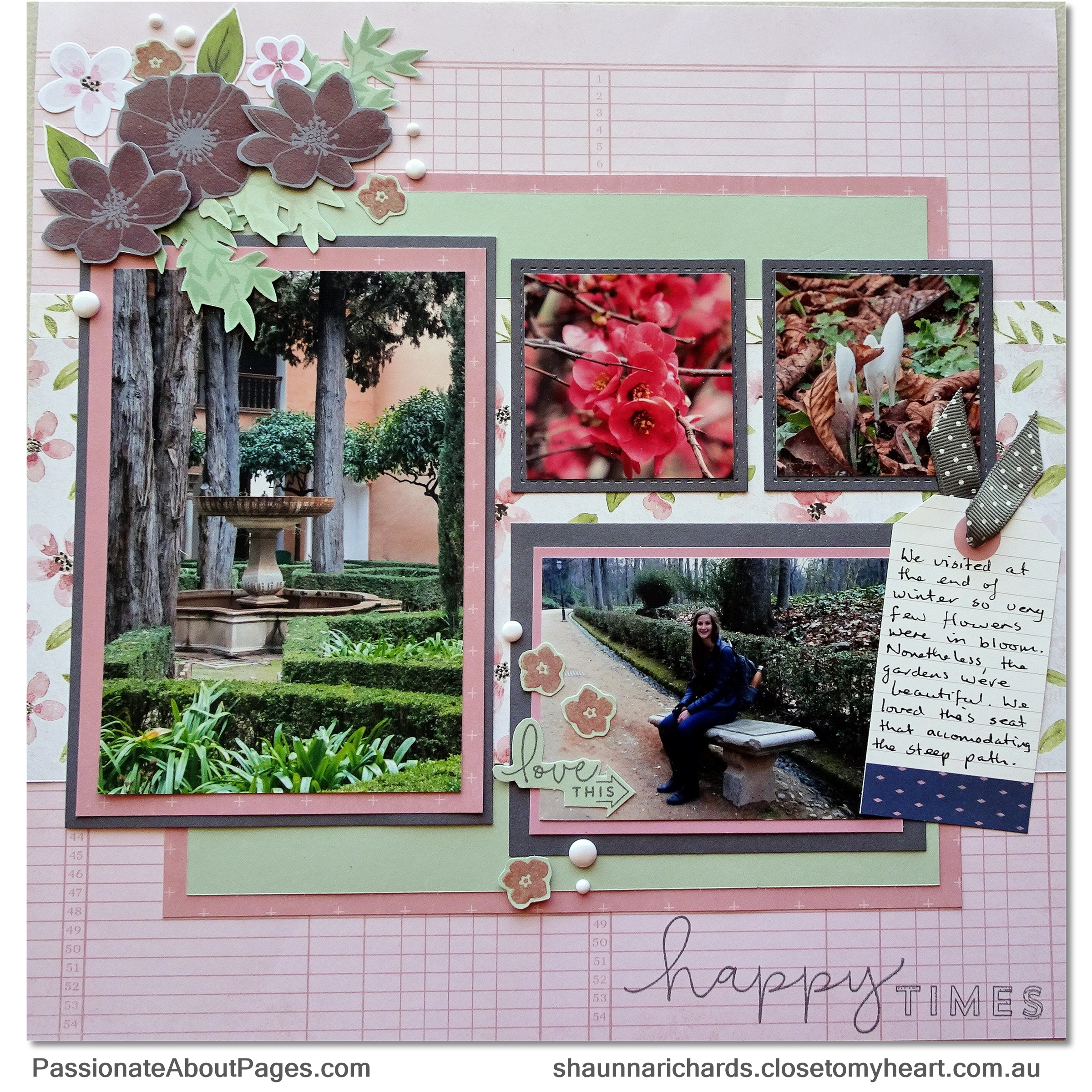 Tell your story using S1904 Love So Sweet- April's 2019's Stamp of the Month from Close To My Heart.  Perfect for scrapbooks and cards. Order yours from www.shaunnarichards.ctmh.com.au during April 2019