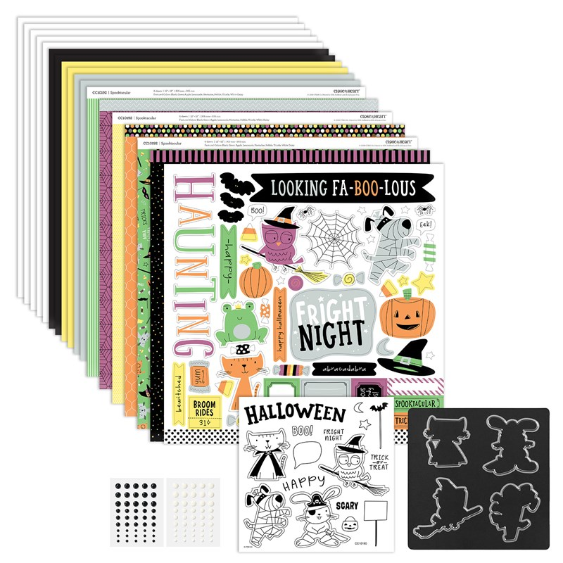 Close To My Heart's Spooktacular collection adapts brilliantly to a variety of scrapbook themes and card designs.  Order your collection at www.shaunnarichards.closetomyheart.com.au before the end of October 2019