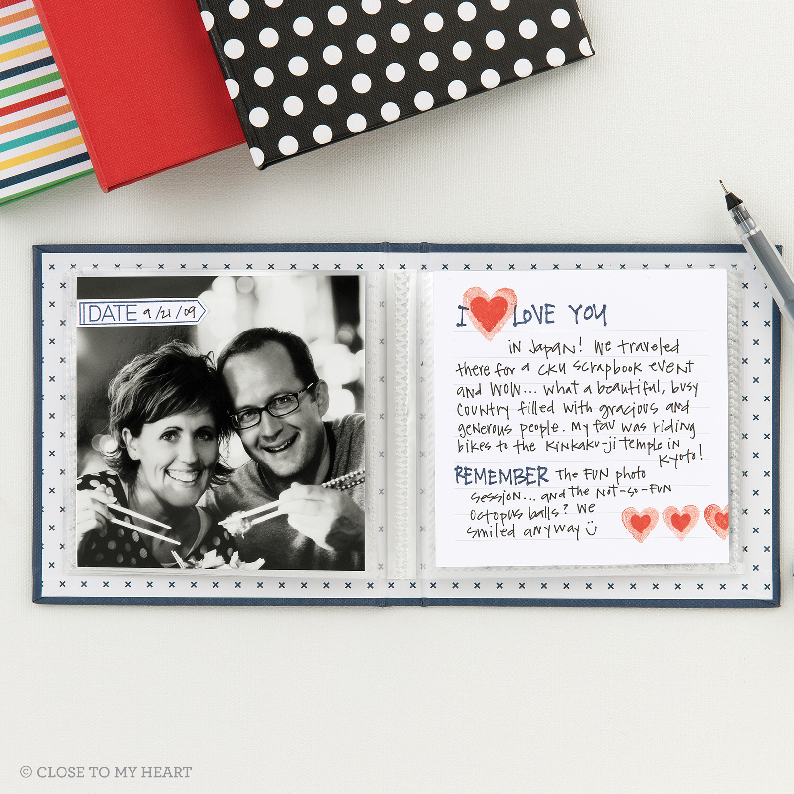 Story Starter Albums are the perfect place to record sweet memories of a person, place or thing that means a lot to you. Order yours at shaunnarichards.closetomyheart.com.au