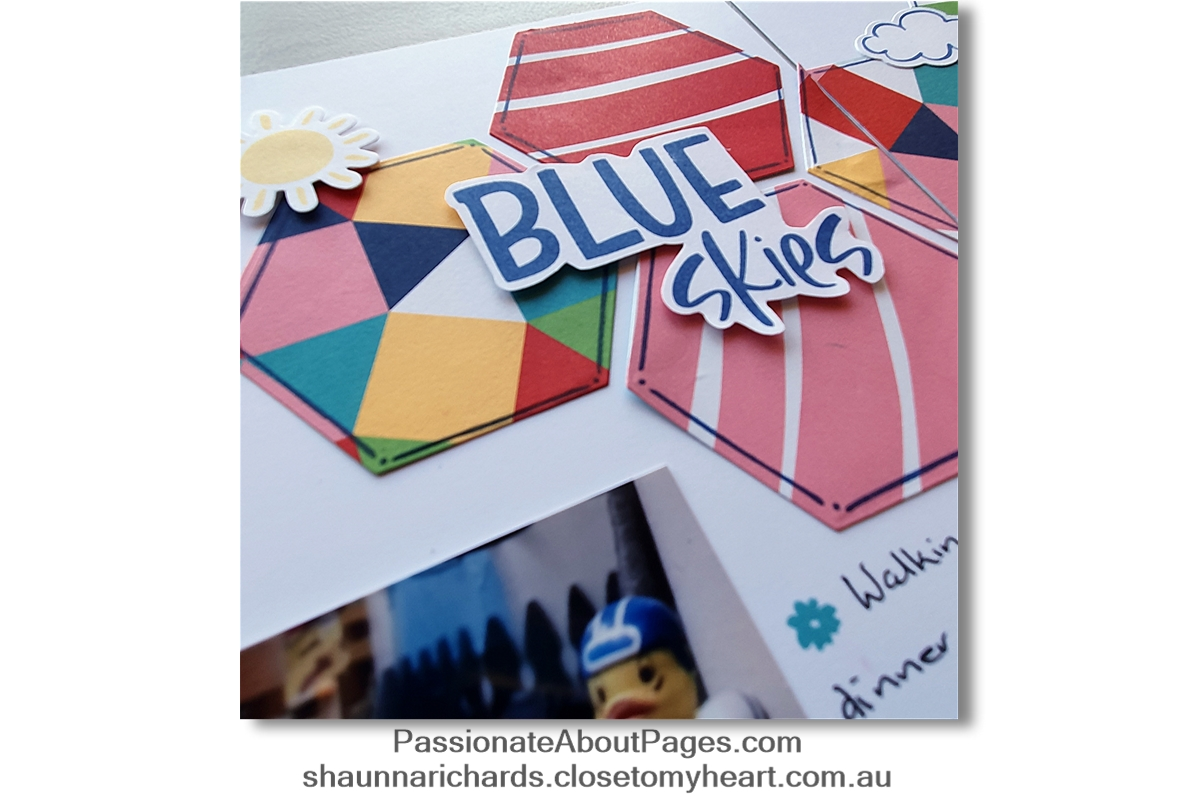 Close To My Heart's Blue Skies collection is available for purchase until the end of June 2020.  View the range on the promotions tab at www.shaunnarichards.closetomyheart.com.au