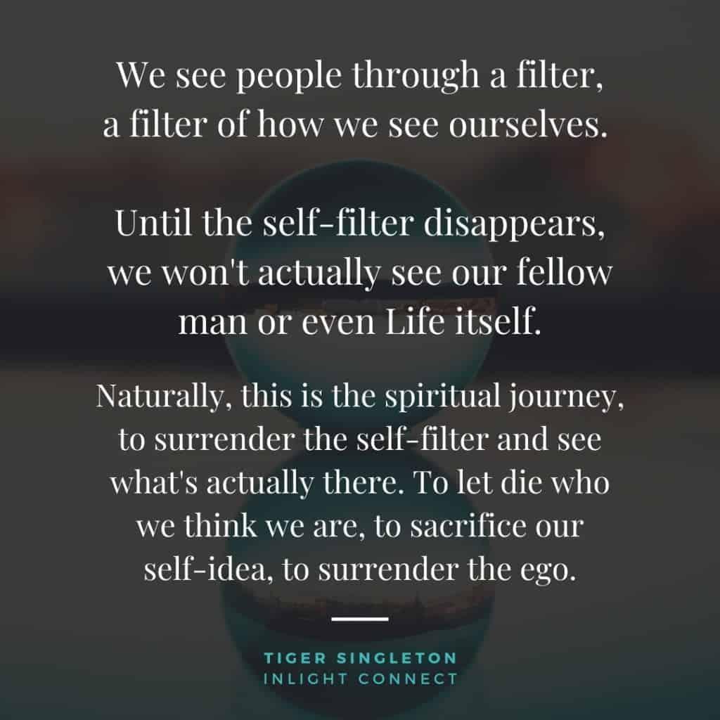 See Beyond Your Ego's Filter & Forgive - surrender