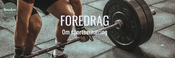 Gratis foredrag om sportsernæring