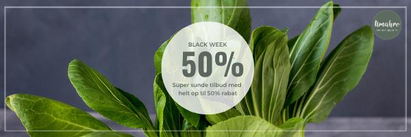 BLACK FRIDAY // 50 % RABAT
