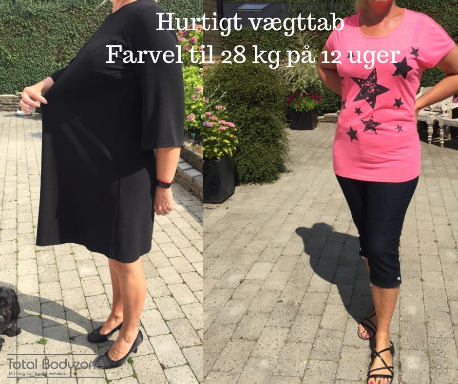 overgangsalder og vægttab