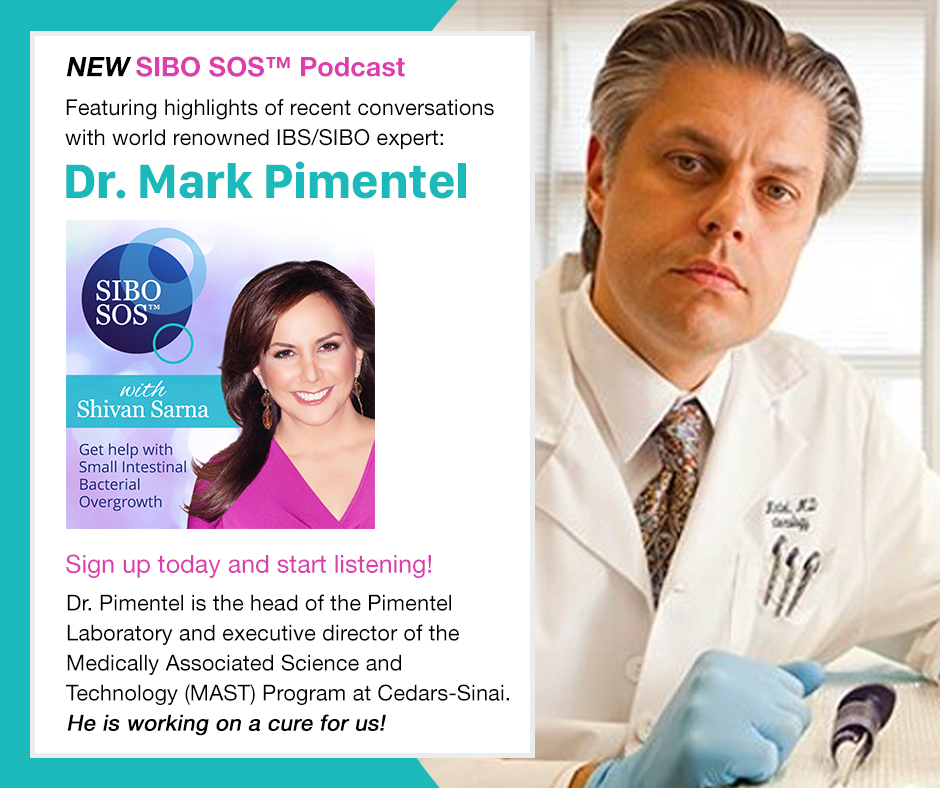 SIBO SOS Podcast with Dr. Pimentel