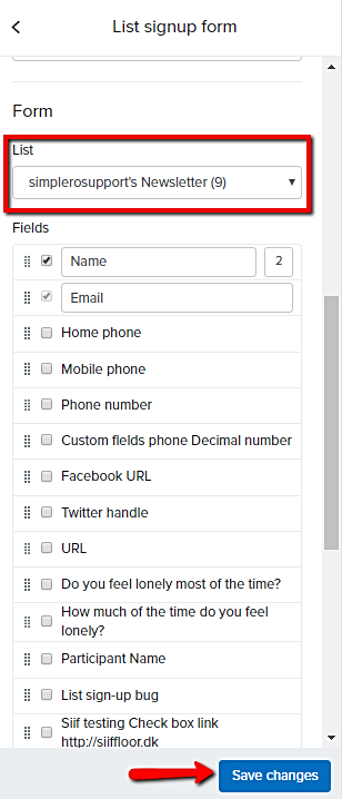 Select_product_for_list_signup_form