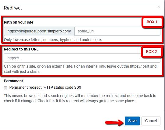 Redirect_popup_screen
