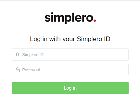 Simplero_login_screen