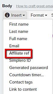 Insert_Affiliate_ref_in_broadcast_email