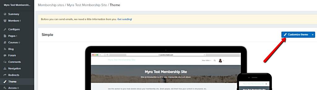 Customize_membership_site_theme