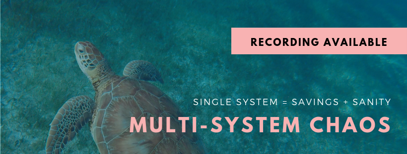 Webinar • Multi-system Chaos • Recording