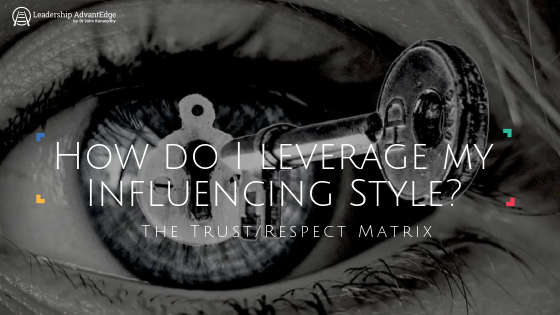 how do i leverage my influencing style