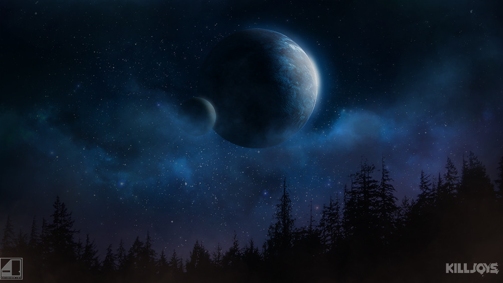 spacescape for Killjoys by Adrian Bobb