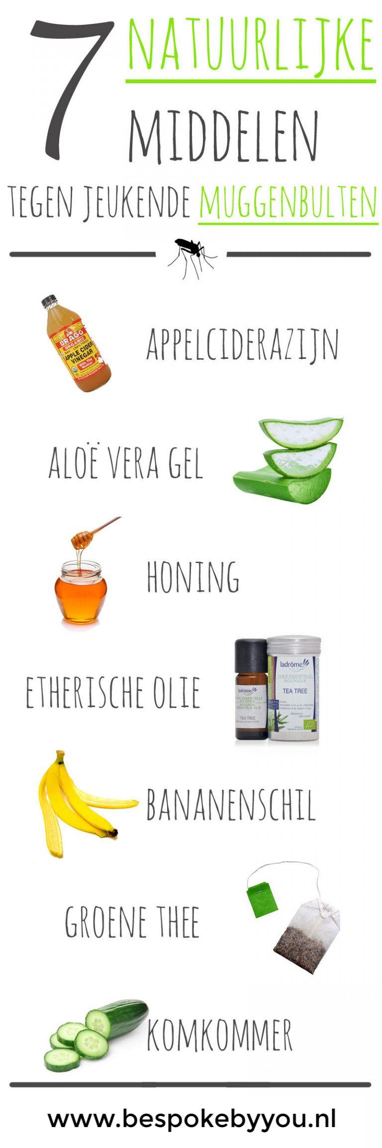 7 natuurlijke middelen tegen muggenbeten