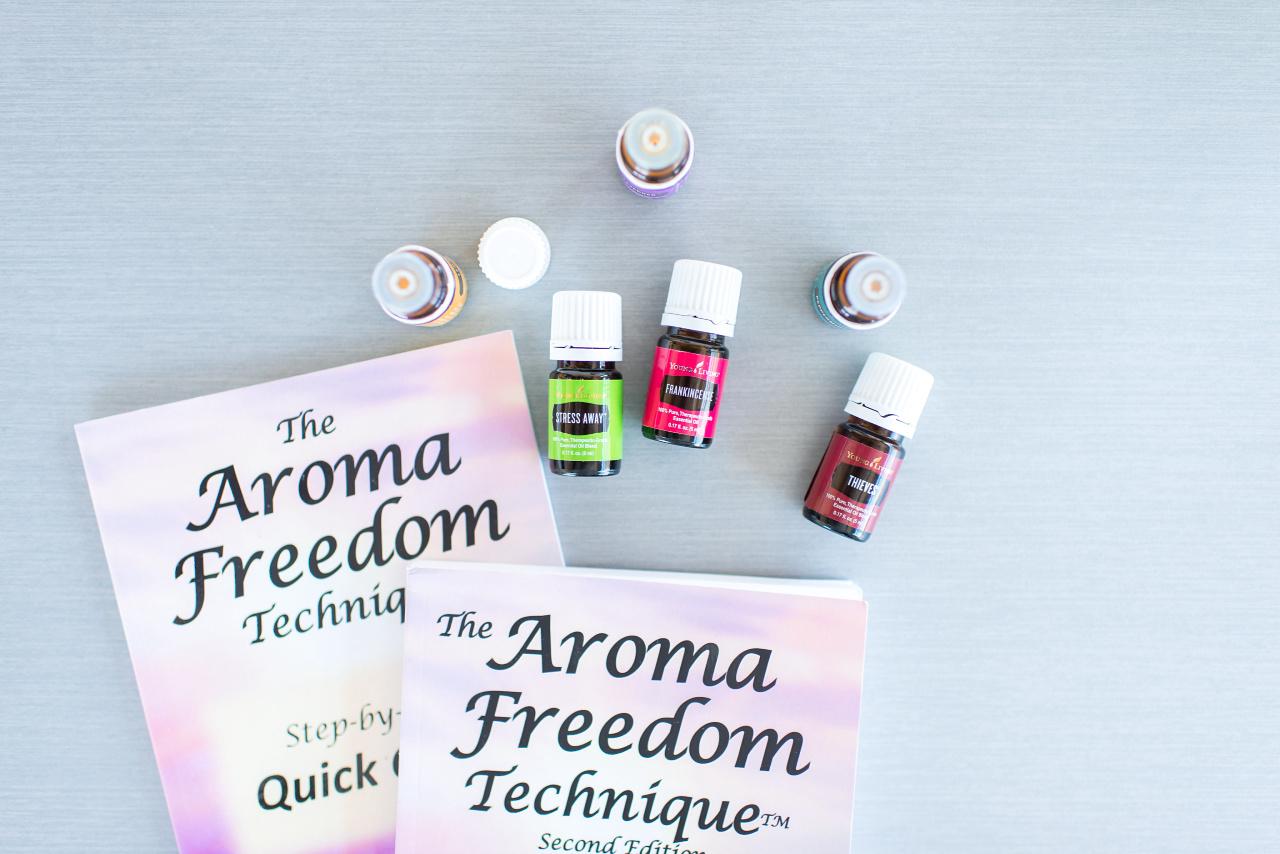 AFT Aroma freedom techniek, gebruik geur voor loslaten van beperkende gedachten en patronen.