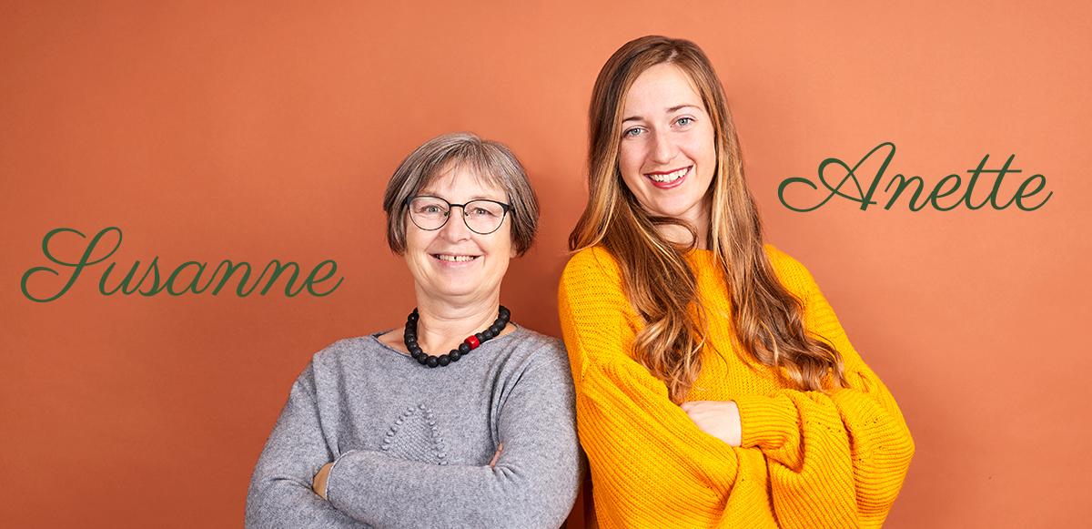 Susanne og Anette Slank med Passion