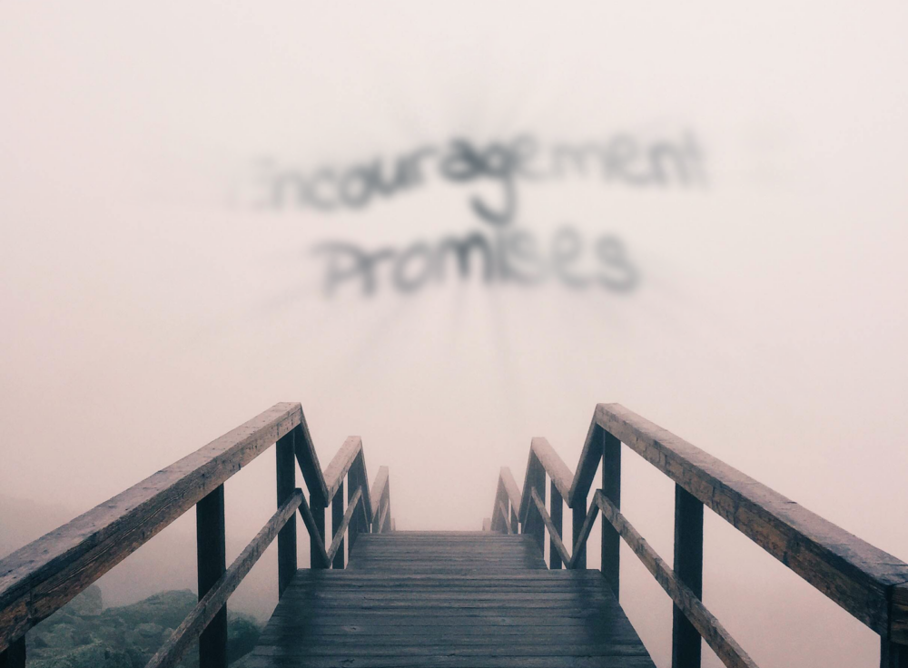 Encouragement and the feeling of promise can quickly dissipate when we face problems