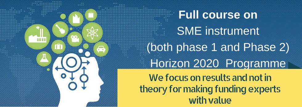 Horizon 2020 SME instrument banner