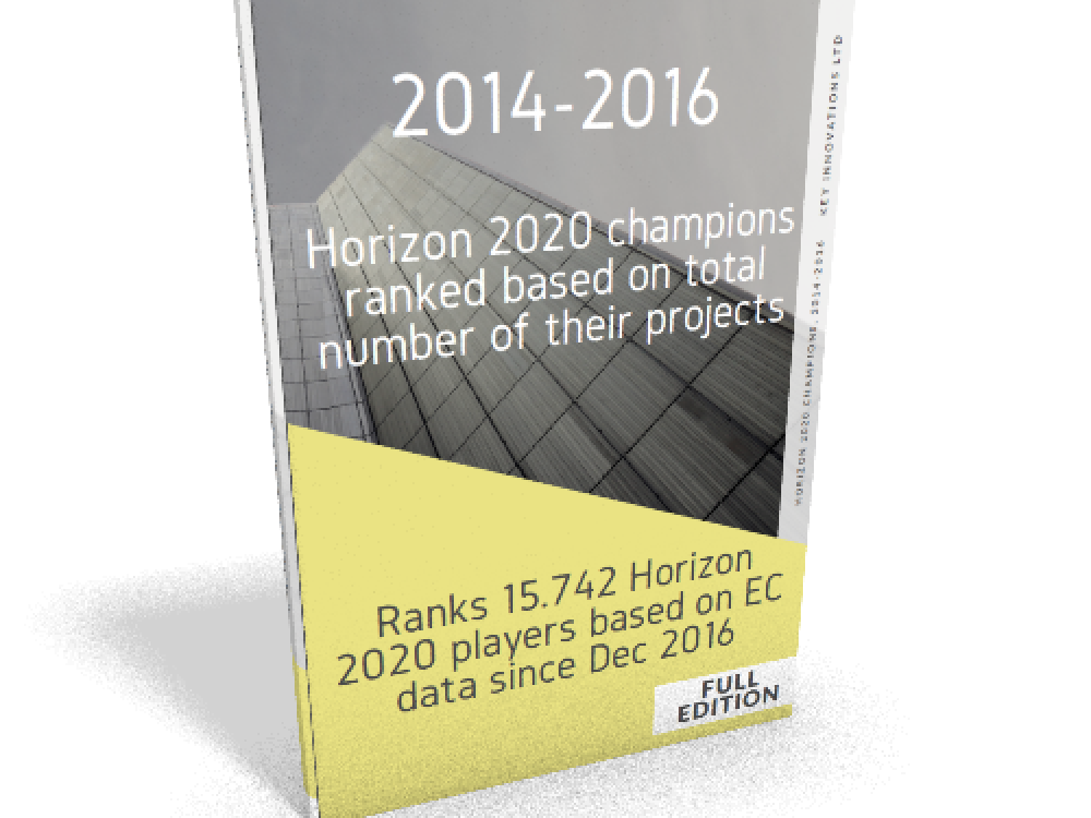 Horizon 2020 ranking based on projects book