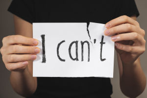 I can or I can not - my choice