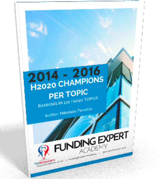 HORIZON 2020 CHAMPTIONS PER TOPIC