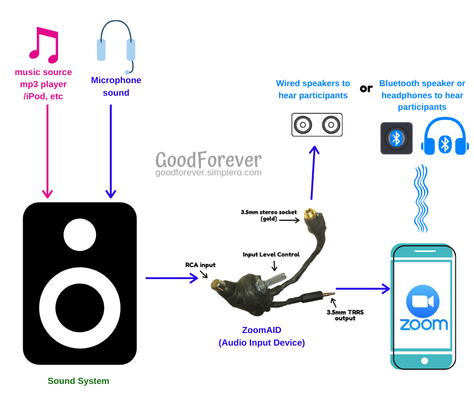 ZoomAID Audio Input Device from GoodForever