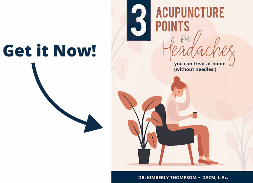 3 Acupuncture Points for Headaches you can Treat at Home
