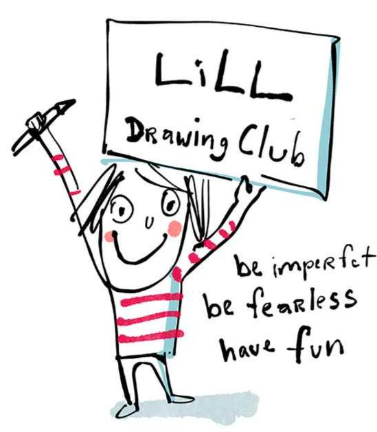 Lill drawing club rules.jpg