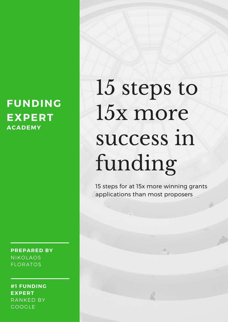 15x formula for successful grant applications