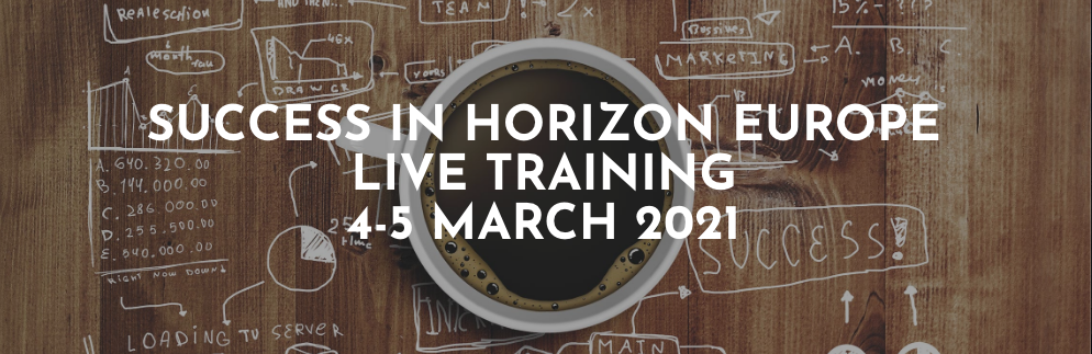 Horizon Europe training live