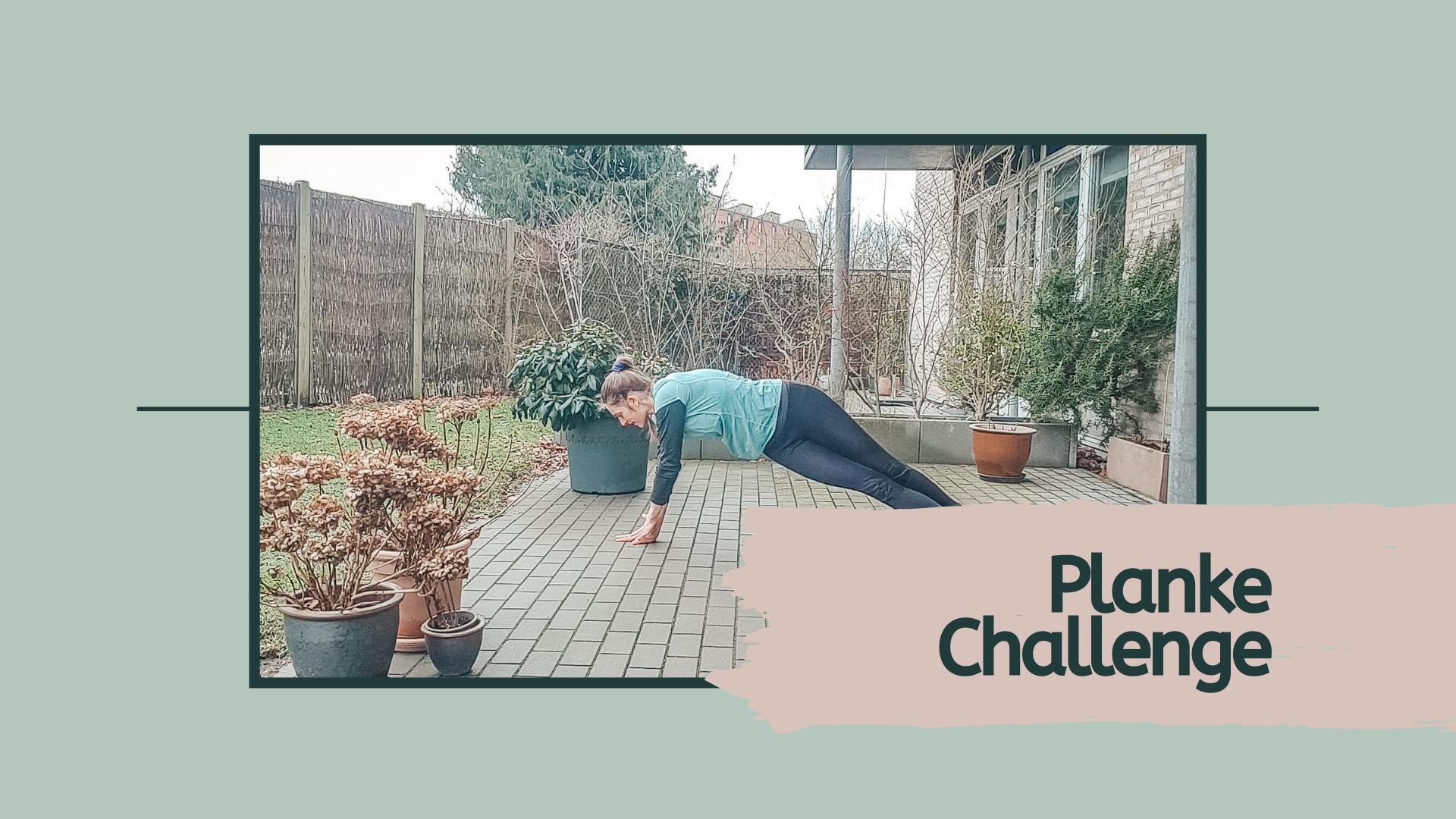 Hjemmetræning planke challenge