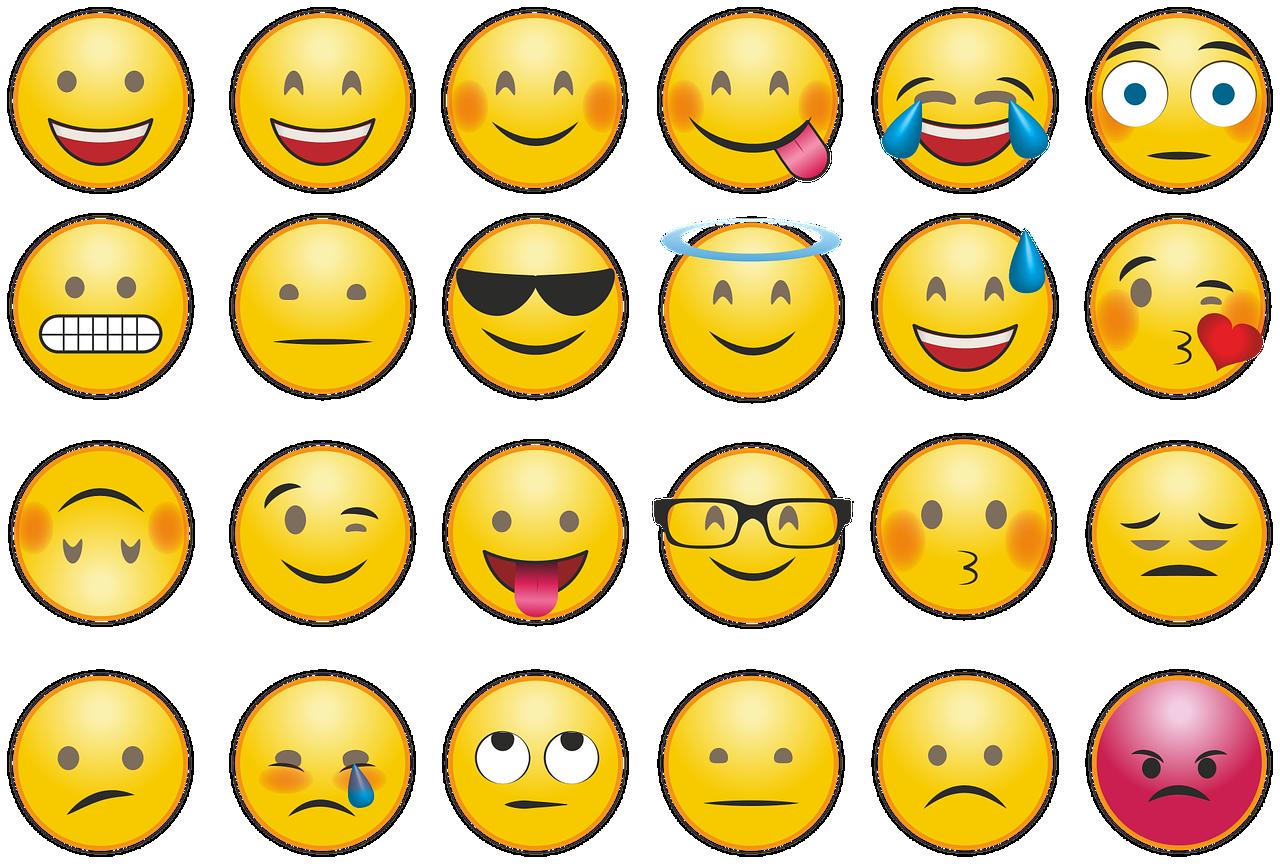Feeling emojis