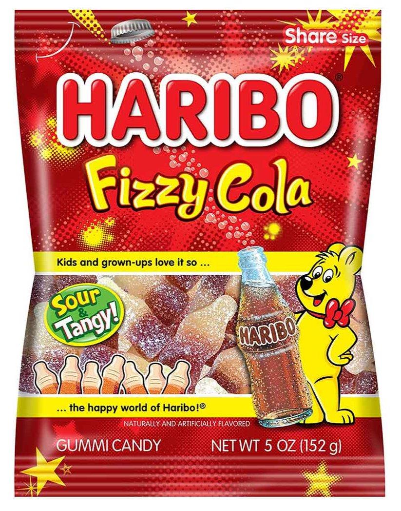 Haribo Fizzy Cola Gummy Candy, 5 oz (152 g)