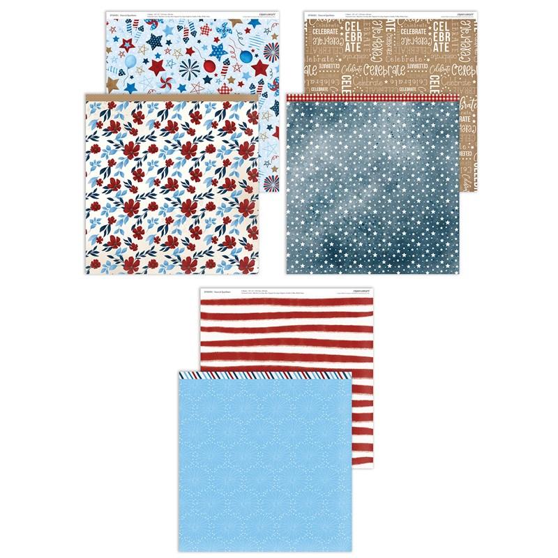 Stars & Sparklers Paper